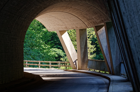 Ebniter valley natural wonders, Vorarlberg, Austria Reklamní fotografie