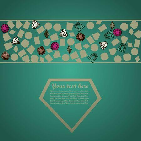 Gems set Illustration