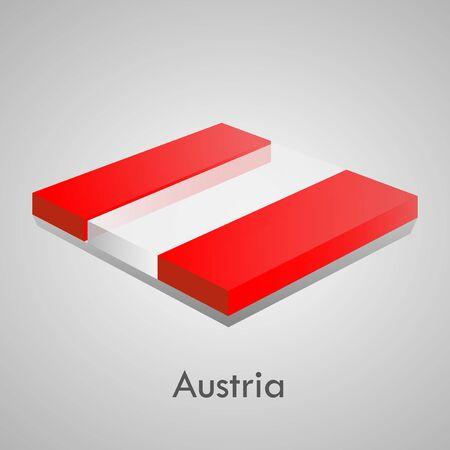 European flags set  glossy bricks  Stock Vector - 18266737
