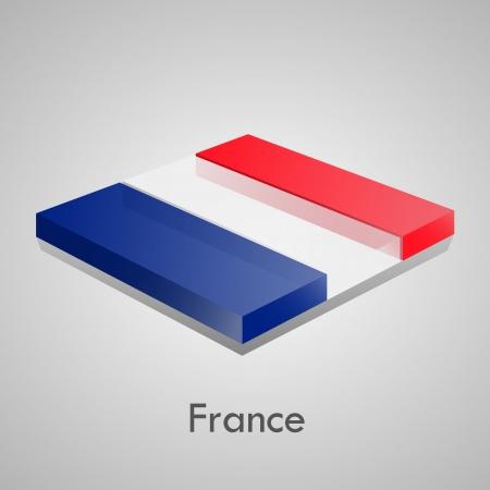 European flags set  glossy bricks Stock Vector - 18266719