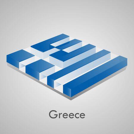 European flags set  glossy bricks  Stock Vector - 18266705