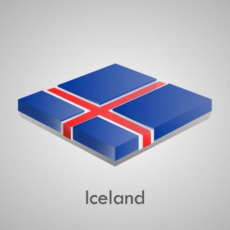European flags set  glossy bricks  Stock Vector - 18266704