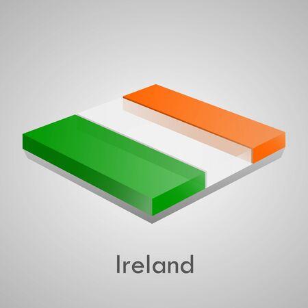 European flags set  glossy bricks Stock Vector - 18266734