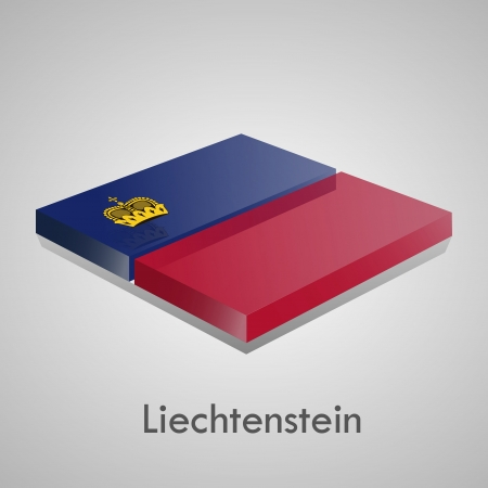 European flags set  glossy bricks Stock Vector - 18266715