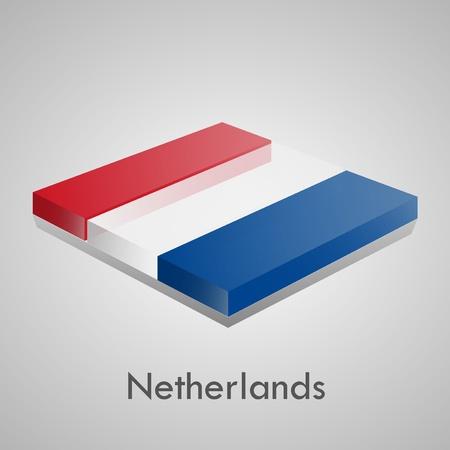European flags set  glossy bricks Stock Vector - 18266743