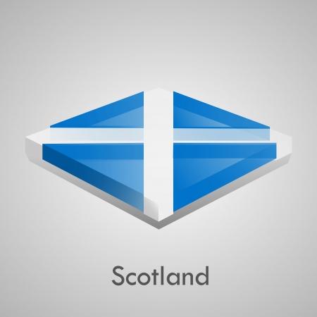 European flags set  glossy bricks  Stock Vector - 18266725