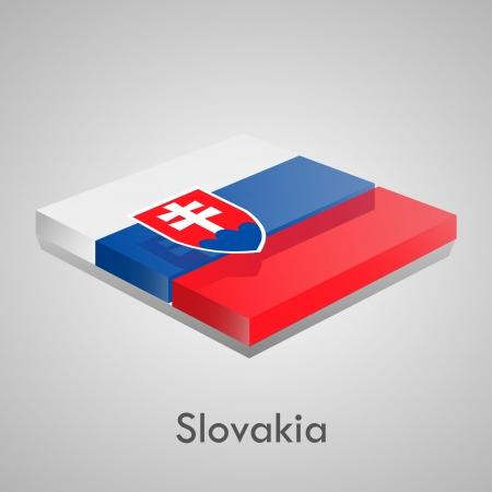 European flags set  glossy bricks Stock Vector - 18266707