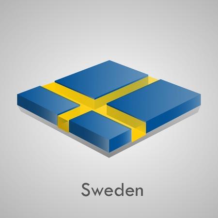 European flags set  glossy bricks Stock Vector - 18266702