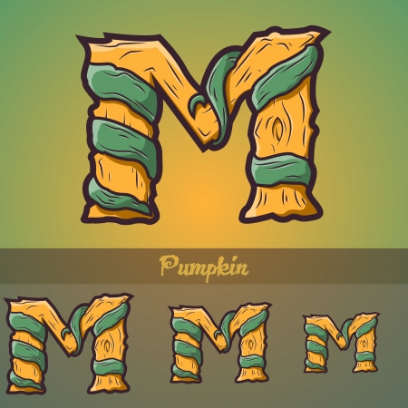 awful: Halloween decorative alphabet - Tree   roots