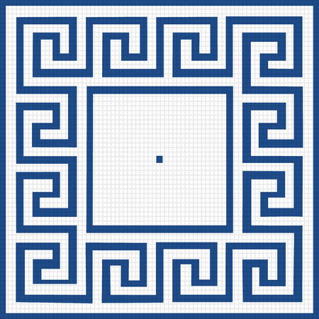 pattern of blue squares