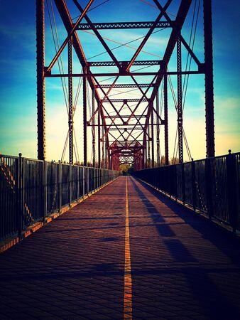 pedestrian bridge: Pedestrian bridge