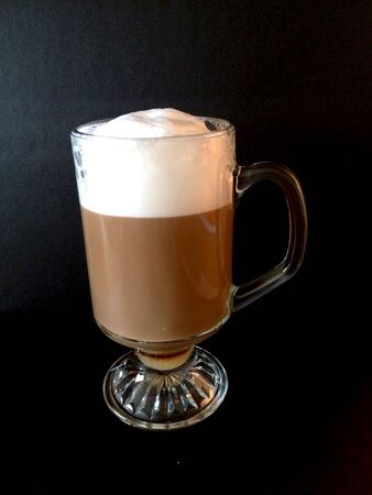 capuchino: Cup of coffee with milk
