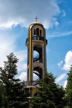 haskovo: May, 08, 2016 Haskovo, Bulgaria : The Bell Tower in Haskovo,Bulgaria