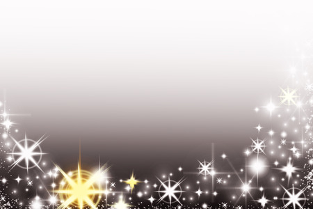 sparkly: Shiny Christmas background with snowflakes and place for text. Sparkly holiday background with copy space