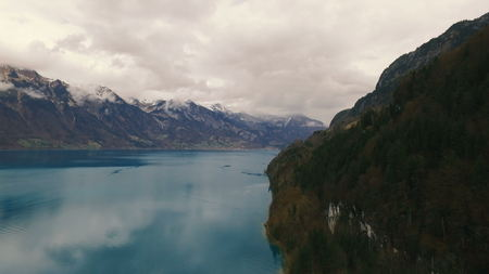 Beautiful lake near mountains. Stok Fotoğraf
