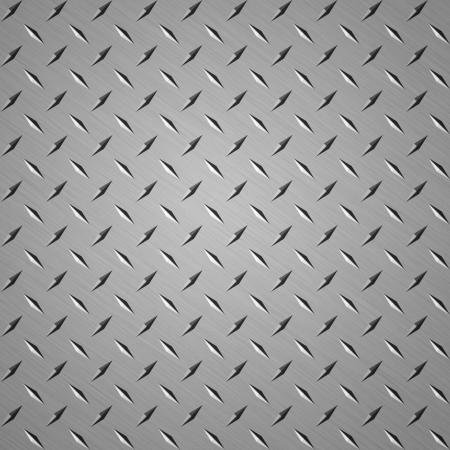 diamondplate: Diamond buon piatto di acciaio sfondo per pagine web Archivio Fotografico