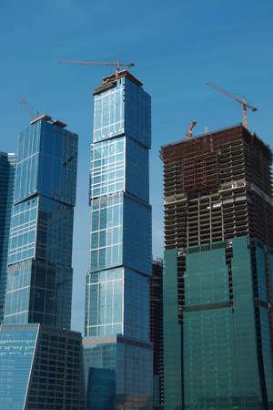 constrution: skyscrapers under constrution