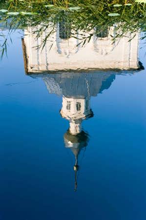 reflexion: Iglesia de reflexi�n en el agua