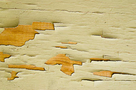 peeled off: Wooden wall with  peeled off paint