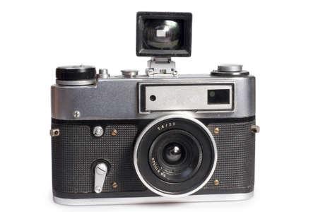 the old  range finder camera photo