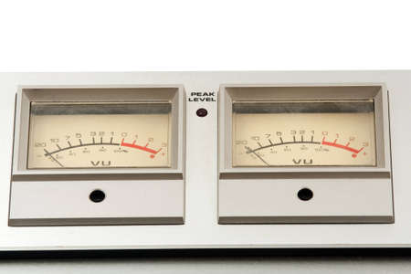 two decibel meter of sound equipment photo