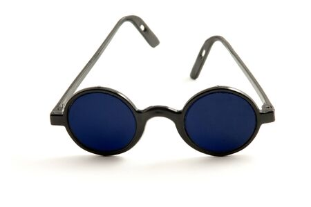 dark blue eyeglasses
