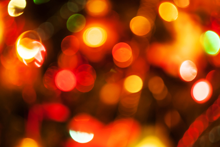 natural defocused christmas lights, good for background