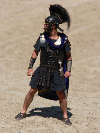 gladiator: Gladiator Stock Photo