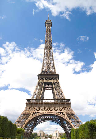 Eiffel tower on background cloud blue sky Stock Photo - 1455554