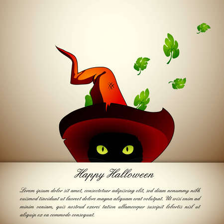 compatibility: Halloween cat  EPS10 Compatibility Required Illustration