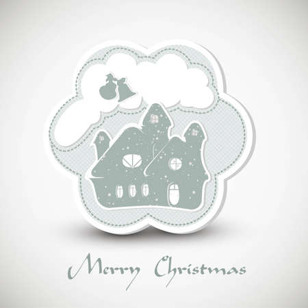 Christmas greeting card    EPS10 Compatibility Required Vector