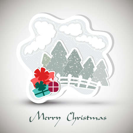Christmas greeting card  | EPS10 Compatibility Required