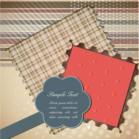Cute scrapbook elements  | EPS10 Compatibility Required Vector