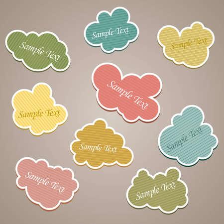 Speech Cloud Set