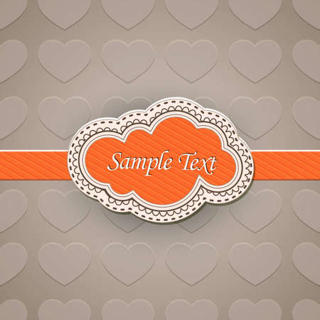 Vector illustration of vintage retro labels | EPS10 Compatibility Required Vector