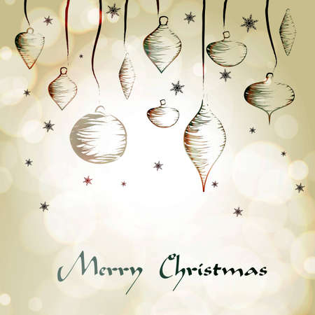 Christmas hand drawing decoration | EPS10 Compatibility Required