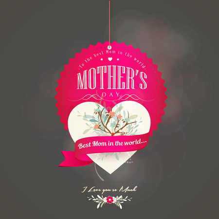 Happy Mothers Day Card -  Compatibility Required Illustration