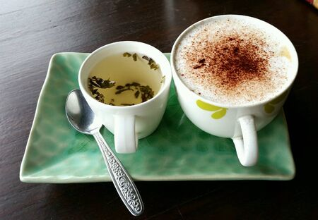 coffeetime: Coffeetime Stock Photo
