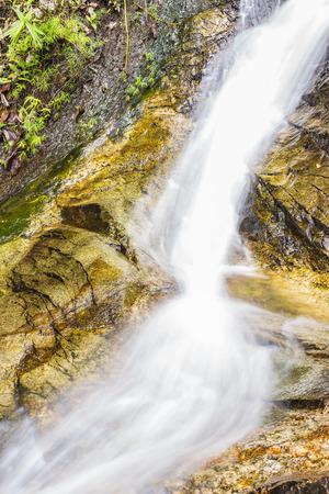 wang: Wang Ban Bua cascada en Doi Suthep-Pui Nationnal Park, Chiang Mai.