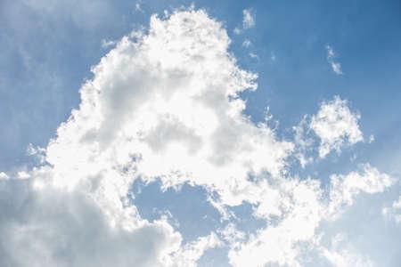 clound: Clound in blue sky. Stock Photo
