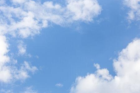 clound: Clound with blue sky Stock Photo