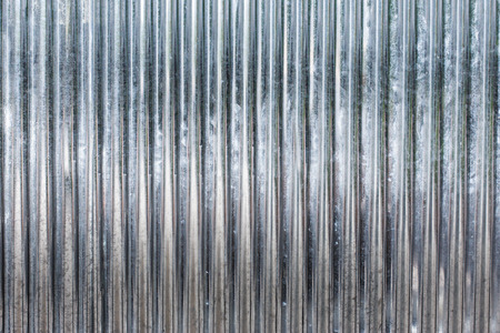 Corrugated zinc metal texture may be used as background. Banco de Imagens - 30807326