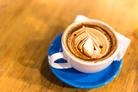 Coffee cup, A cup of hot chocolate. photo