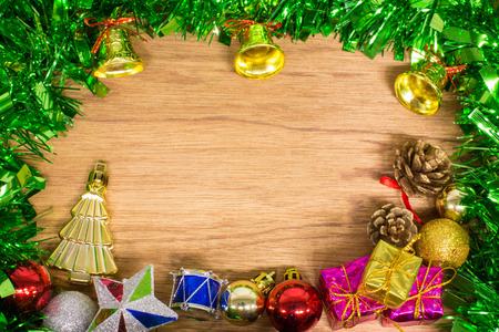 Christmas and happy new year background. photo