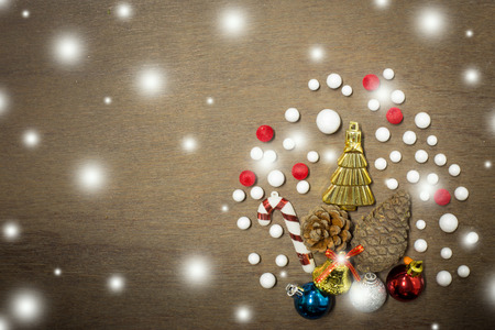 Christmas and happy new year background photo