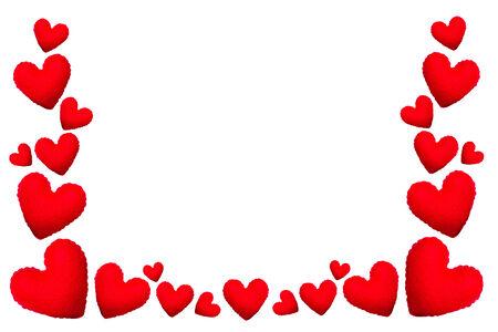 Valentines day heart love element. photo