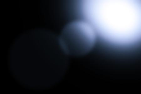 spot light: Blue lighted of spot light illuminating on black background surface Stock Photo