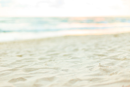 chillout: Summer holidays background - beach and sea, defocused