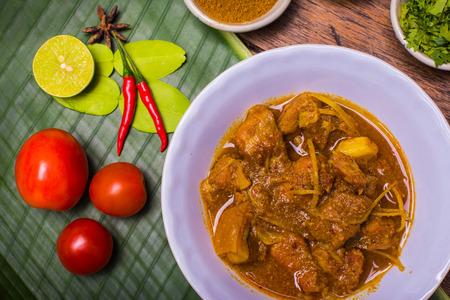 Kaeng Hung Ley Moo (Pork Curry) Northern Thai food photo