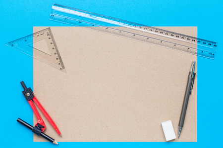 school stationary. Stock Photo
